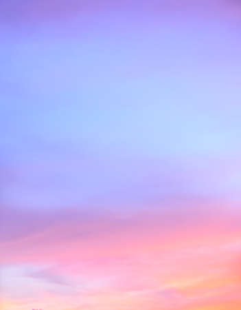 orange sunset: Abstract twilight sky background in soft focus