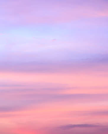 sky clouds: Abstract sunset sky background in soft focus Stock Photo