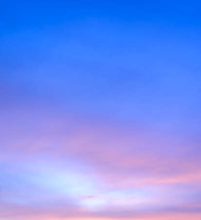 golden dusk: Abstract twilight sky background in soft focus