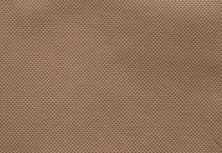 Brown texture background of nonwoven or spunbond fabric