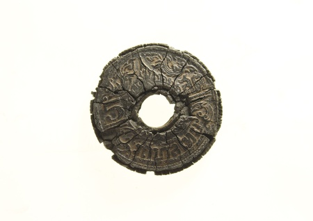 Old coins of Thailand on white background Stock Photo - 18956217