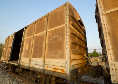 Thai railroad container  photo