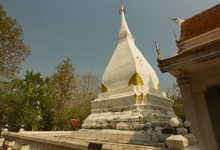 The Buddhist stupa in Dan Sai district, Loei province, Thailand