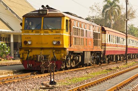 third wheel: Rapid train No.112 from Den-Chai to Bangkok Editorial
