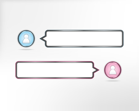 telephonic: user icon chat conversation vector