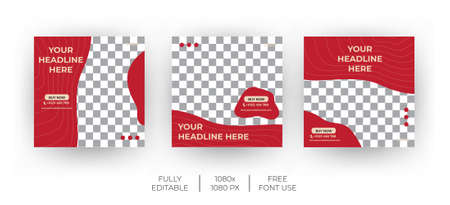 Valentine Social Media banner template can be edited. Everyone can use this design easily. Unique & Promotional web banners for social media.-Vector.