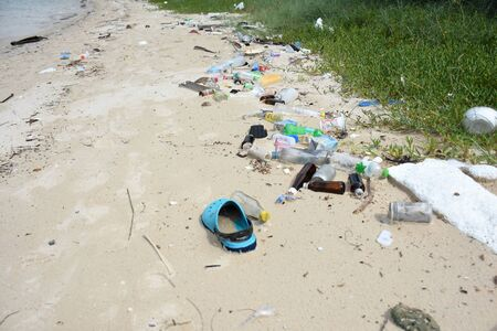 sea water pollution on the koh samaesarn#6