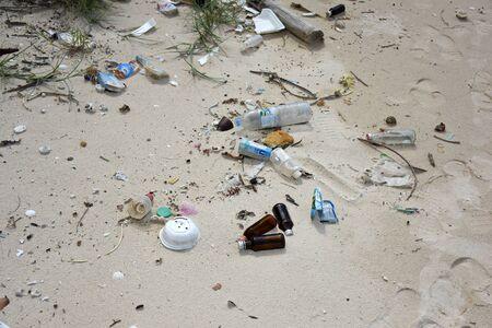 sea water pollution on the koh samaesarn#5 写真素材