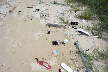 sea water pollution on the koh samaesarn#4