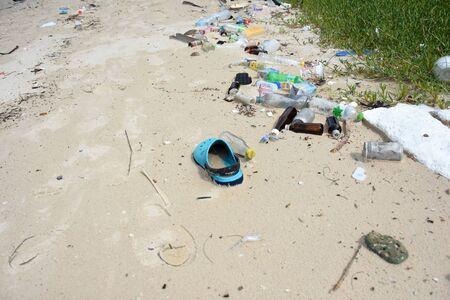 sea water pollution on the koh samaesarn#9