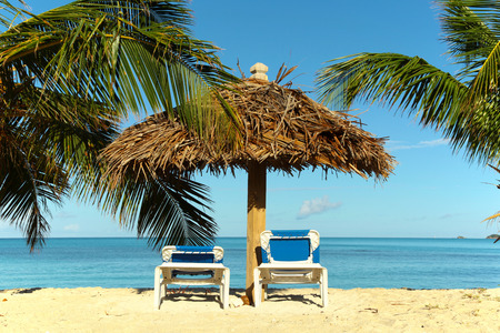 recreational pursuits: tropical beach holiday destination background picture Stock Photo