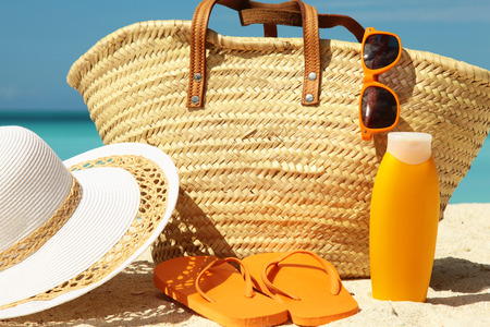 sun protection: sun protection and beach gear sunny day