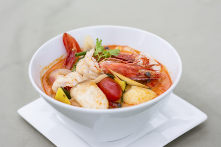tom': Tom yum Kung Popular cuisine of Thailand