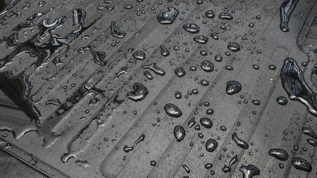 Carpet car with water drop
