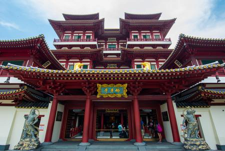 Buddha Tooth Relic at chinatown Singapore
