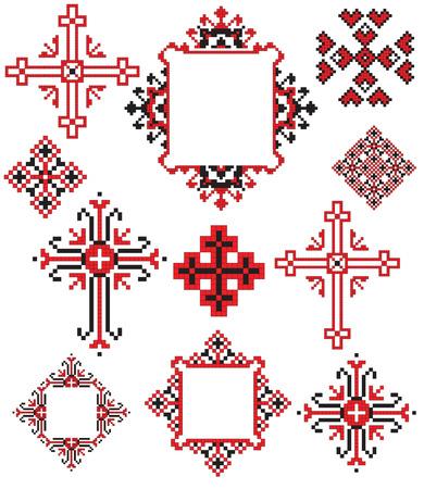 bordados: existe un plan de patr�n ucraniana de bordado