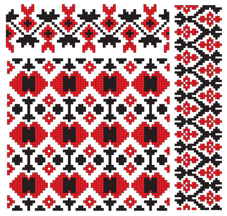 and tradition: pattern element texture embroidery