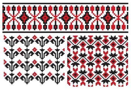 texture embroidery ukrainian
