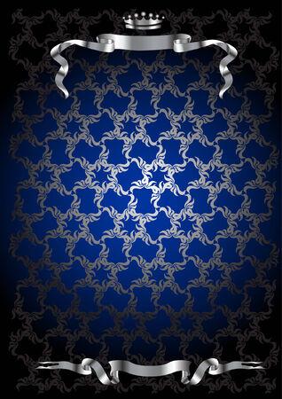 royal crown pattern Illustration