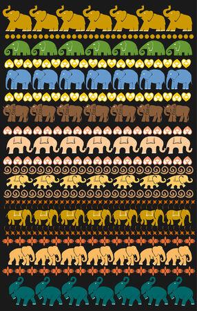 afrika: elephant collection
