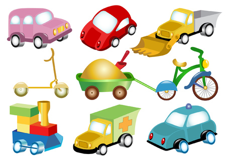 toy transport Vector