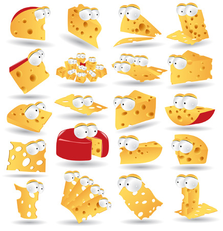 shred: there is cheese icon character collection