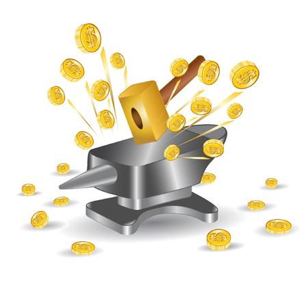 hummer: hummer anvil money gold