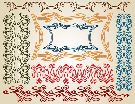art nouveau Vector