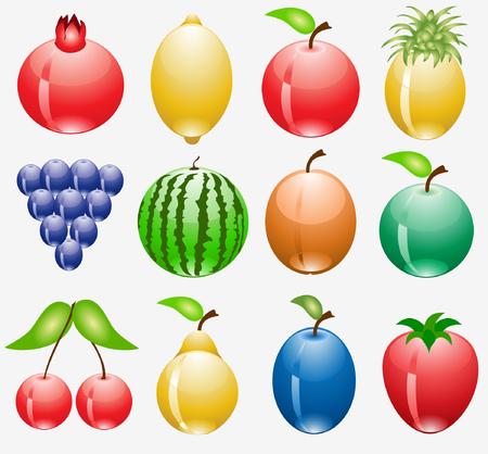 limon: fruit web icon Illustration