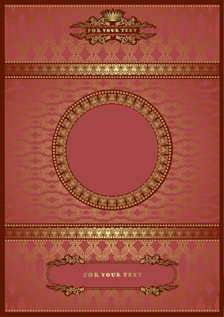 pink luxury royal background Vector