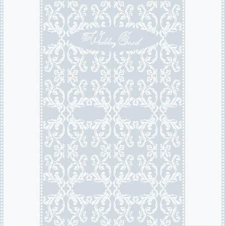 wedding post card background Stock Vector - 10319238