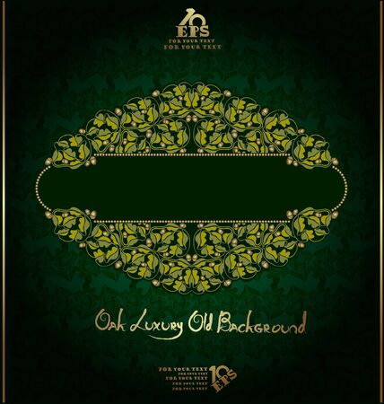 oak luxury old background banner