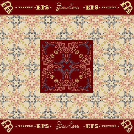 seamless old royal luxury texture background Vector