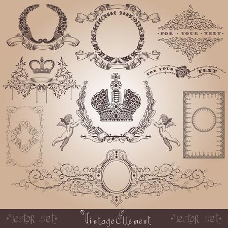 vintage royal element