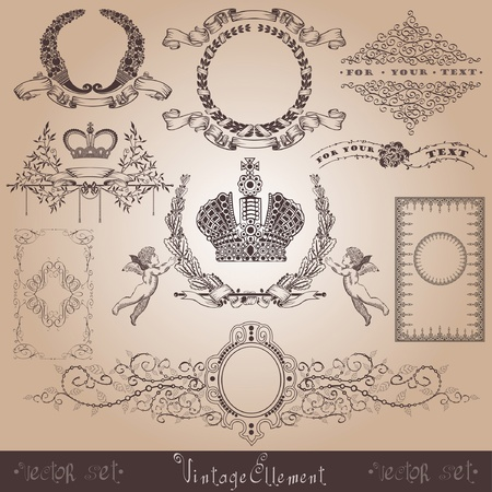 cornucopia: vintage royal element