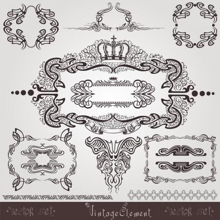 stile liberty: art nouveau cornice elemento label