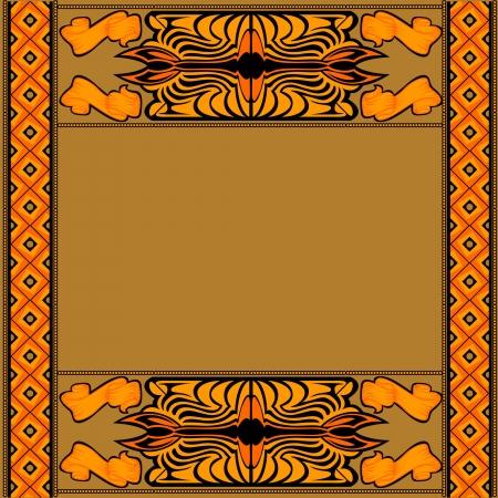 sacramentale: africano background con il modello e il simbolo