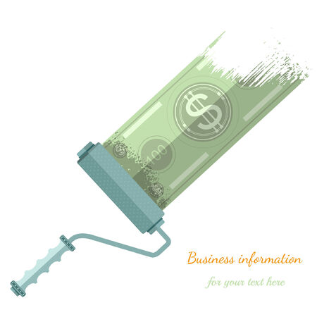 augmentation: flat background with platen make bank note