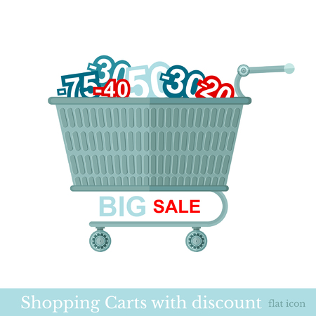 shopping carts: flat shopping carts with discount