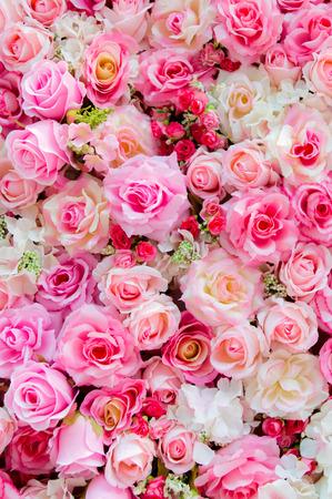 Colore morbido Roses Background