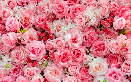 valentine background: Soft color Roses Background