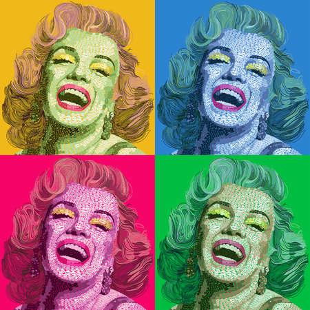 marilyn: Marilyn Monroe Pop-Art Portraits