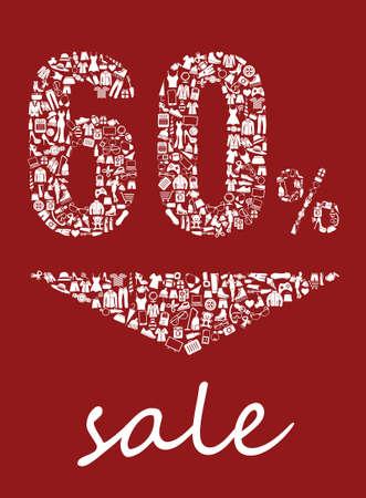Sale 60 Ilustração