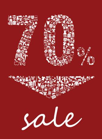 50 off: Sale 70