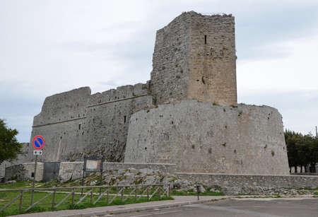 monte sant angelo: Monte SantAngelo Castle, Gargano, Italy