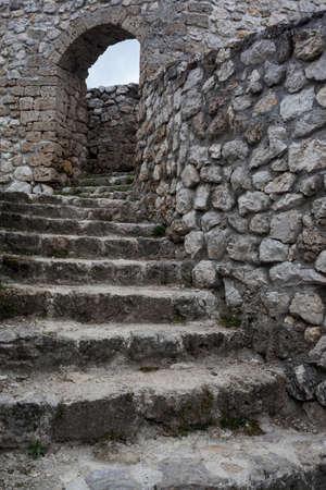 Medieval fortified building in Travnik, Bosnia and Herzegovina