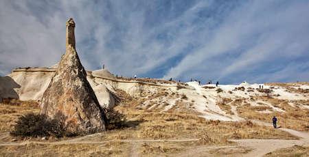 rock formation: Rock formation in Cappadocia Turkey
