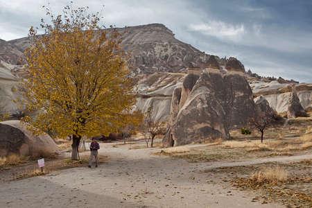 timna: Rock formation in Cappadocia Turkey