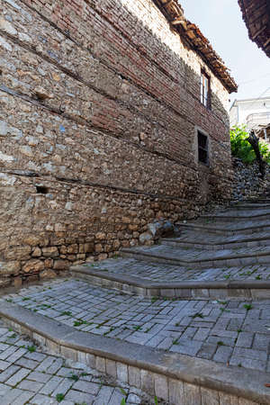 18 month old: Old architecture in the city of Ohrid Macedonia