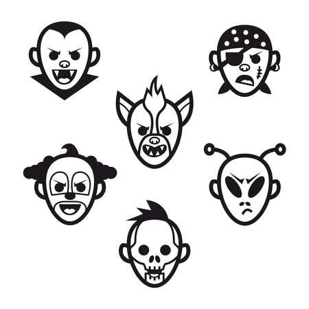 Halloween Kostüme und Masken